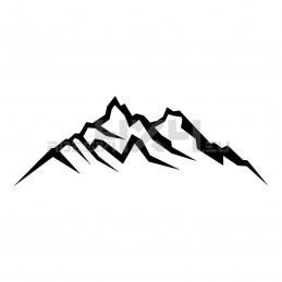 Adesivo montagne v1