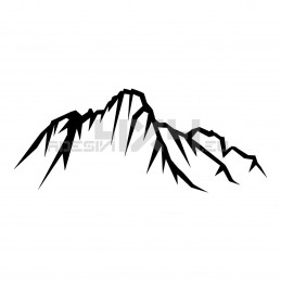 Adesivo montagne v2