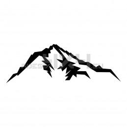 Adesivo montagne v3