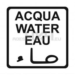 Adesivo acqua