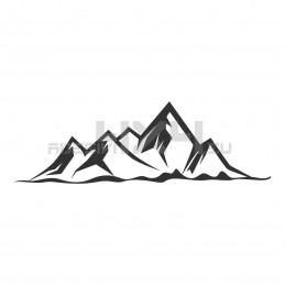 Adesivo montagne v5