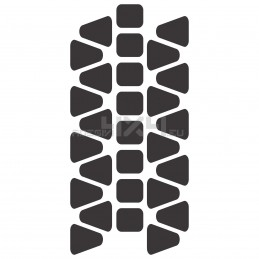 Adesivo impronta pneumatico MUD-07 L