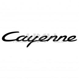 Adesivo Porsche scritta cayenne