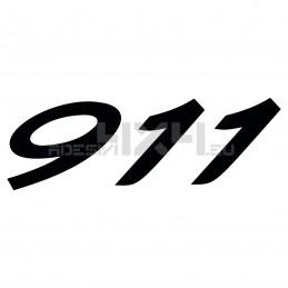Adesivo Porsche scritta 911