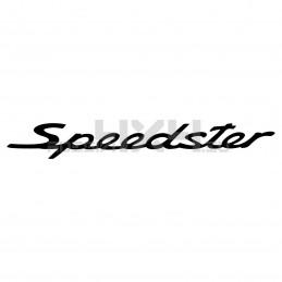 Adesivo Porsche scritta speedster