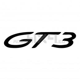 Adesivo Porsche scritta gt3