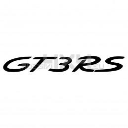 Adesivo Porsche scritta gt3 rs