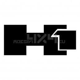 Adesivo hummer h1