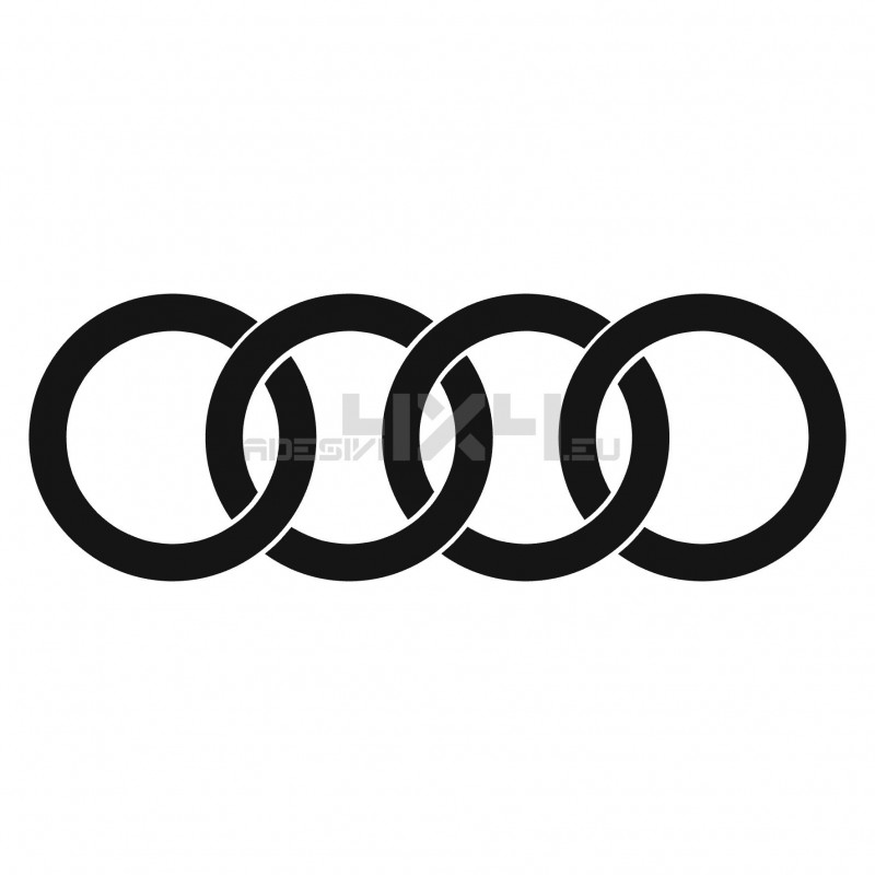 Adesivo logo AUDI 3