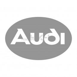 Adesivo scritta logo AUDI v2