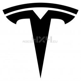 Adesivo logo TESLA