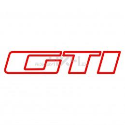 Adesivo scritta GTI ver.3