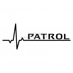 Adesivo pulse nissan patrol
