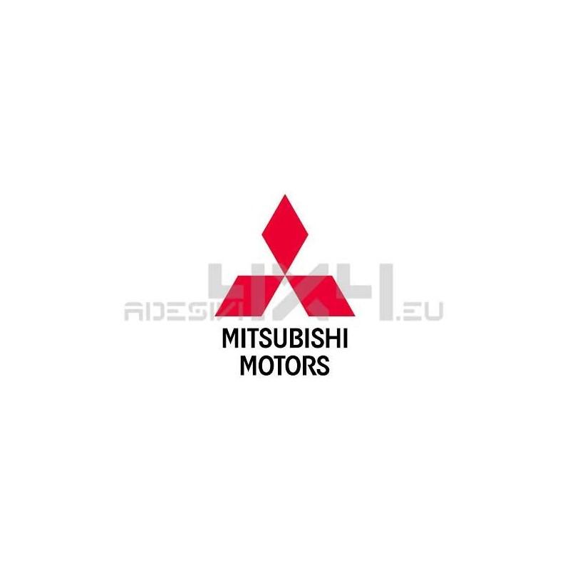 Adesivo logo MITSUBISHI MOTORS
