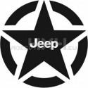 Adesivo stella JEEP v2 20x20cm