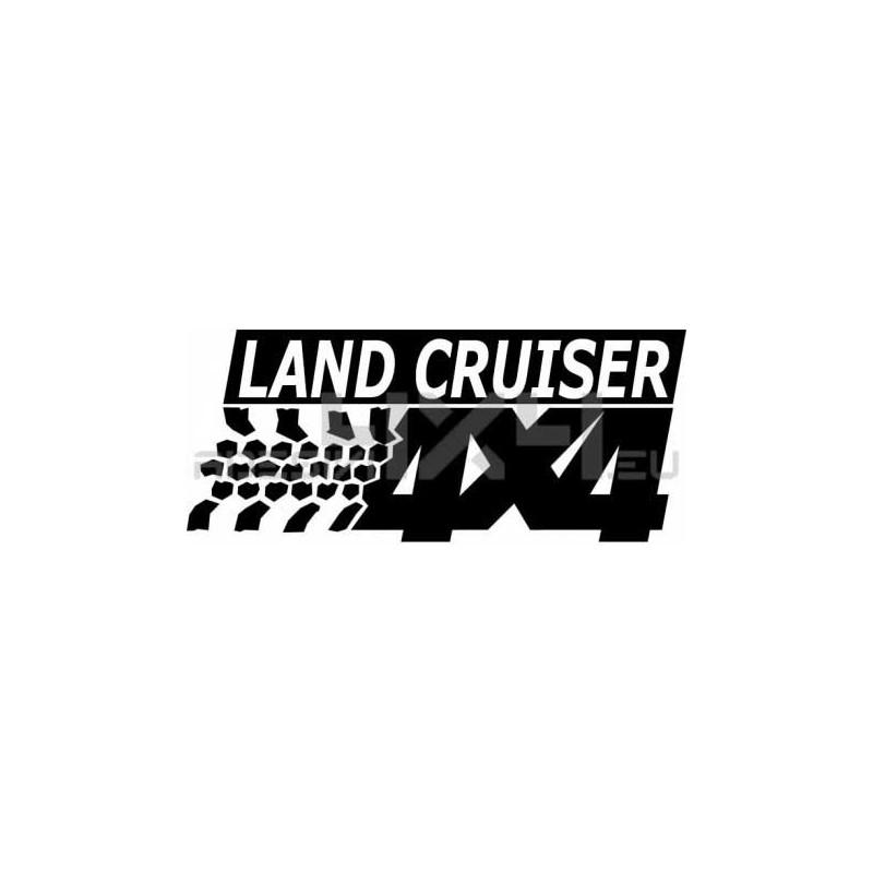 Adesivo TOYOTA LAND CRUISER 4x4