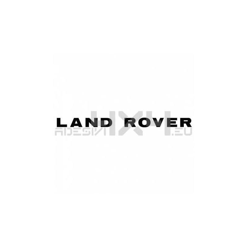 Adesivo LAND ROVER scritta