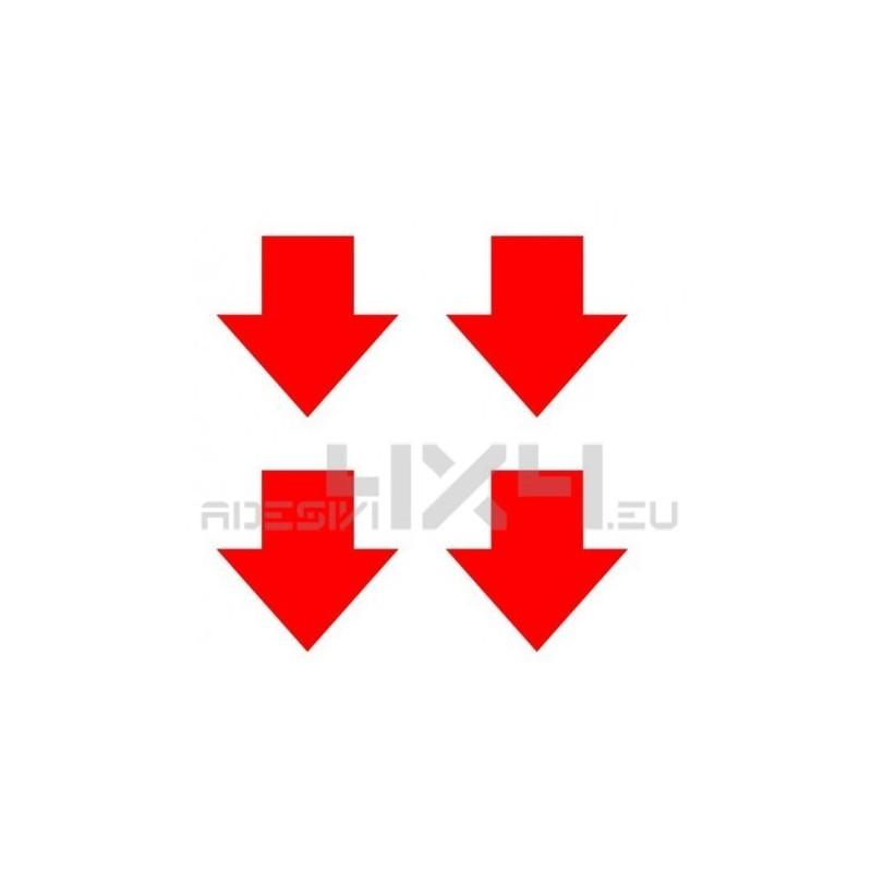 Adesivo KIT 4 FRECCE