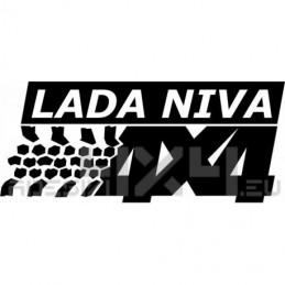 Adesivo Lada Niva 4x4