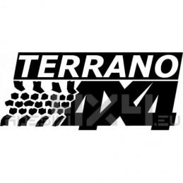 Adesivo Nissan Terrano 4x4