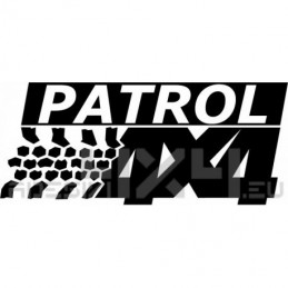 Adesivo Nissan Patrol 4x4