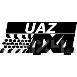 Adesivo UAZ 4x4
