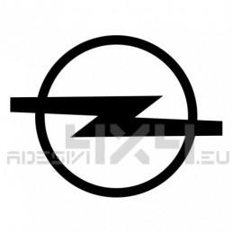 Adesivo logo OPEL