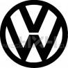 Adesivo logo VW mod.1