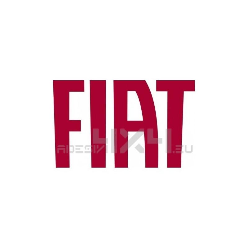 Adesivo logo FIAT a