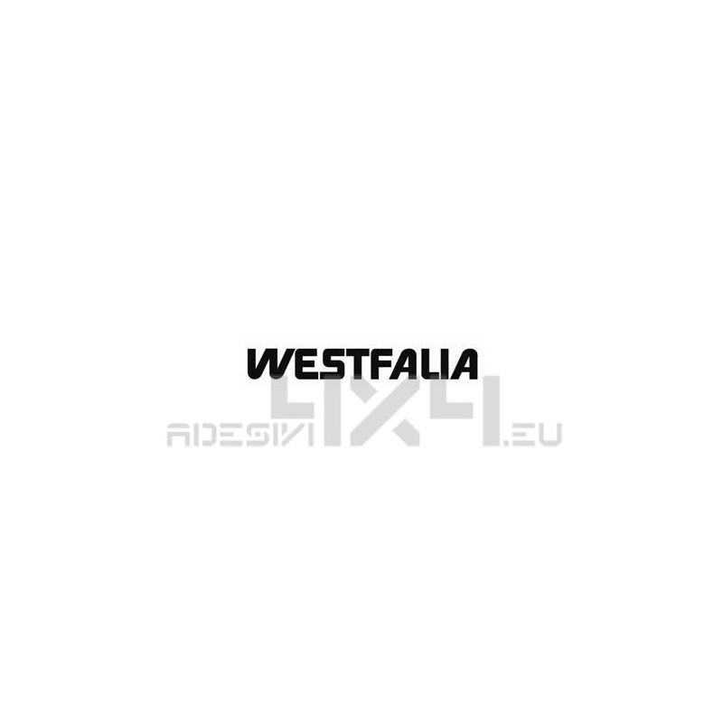 Adesivo camper logo WESTFALIA