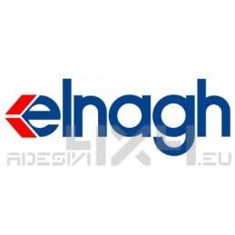 Adesivo camper logo ELNAGH blu-rosso
