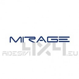 Adesivo camper logo Mirage