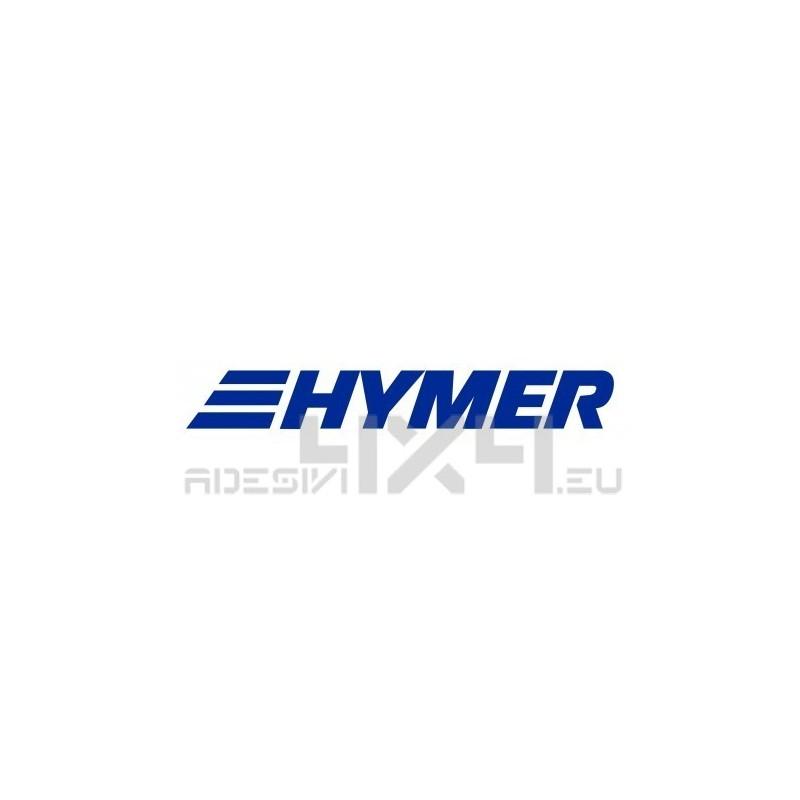 Adesivo camper logo HYMER mod.a
