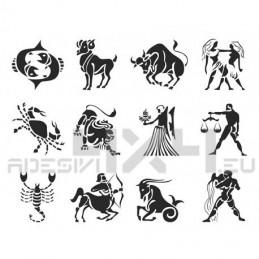 Adesivo segno zodiacale