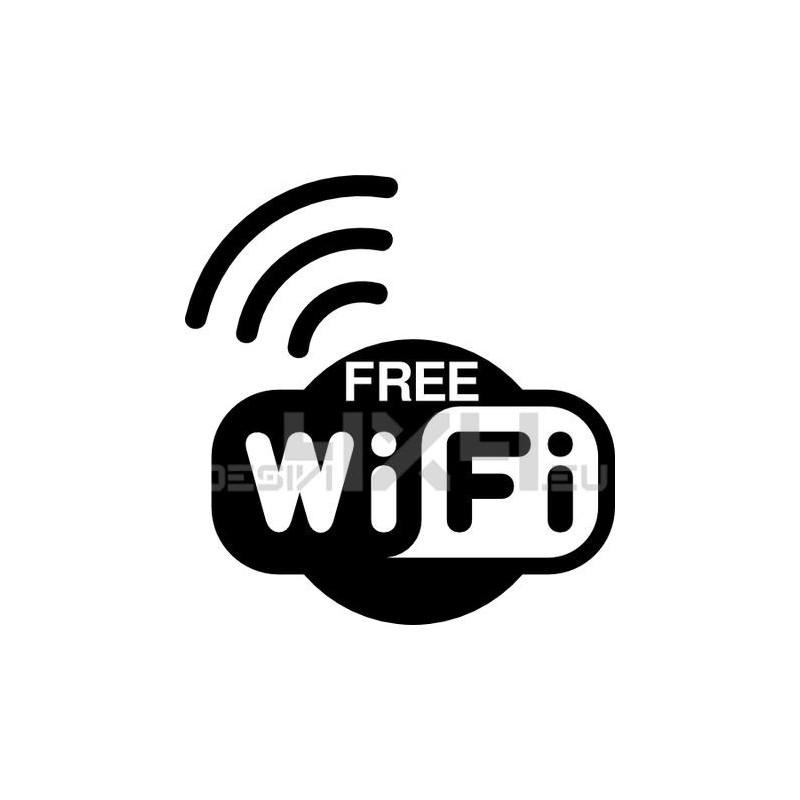 Adesivo wifi free mod.1