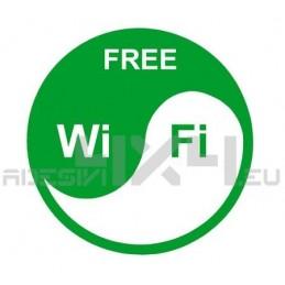 Adesivo wifi free mod.6