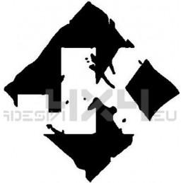 Adesivo jeep JK mod4
