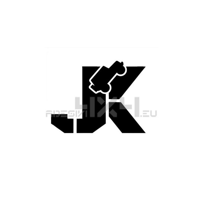 Adesivo jeep JK mod6