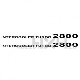 Adesivo intercooler turbo 2800