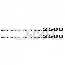 Adesivo intercooler turbo 2500