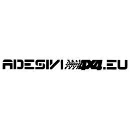 Adesivo parabrezza adesivi4x4.eu