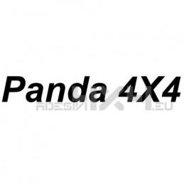 Adesivo Panda 4x4 scritta