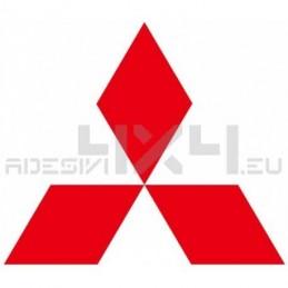 Adesivo logo MITSUBISHI 100cm
