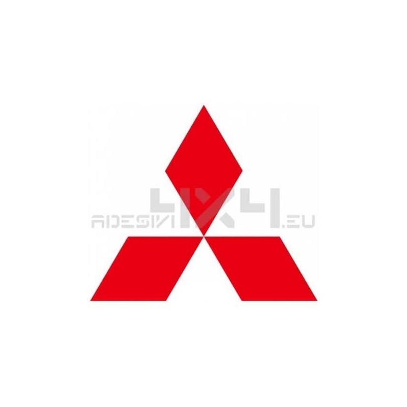 Adesivo logo MITSUBISHI 60cm