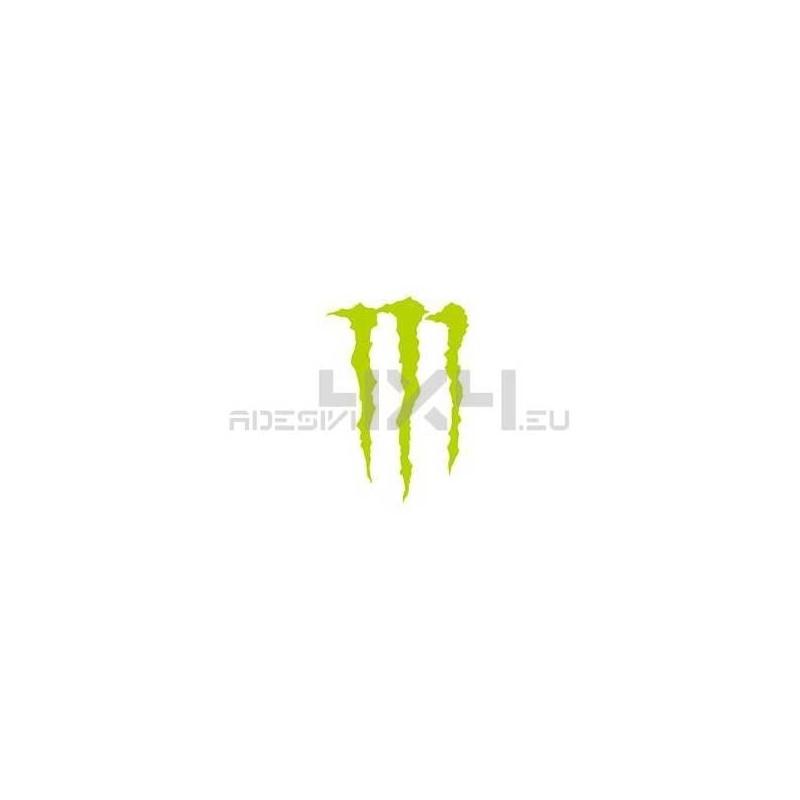 Adesivo logo MONSTER
