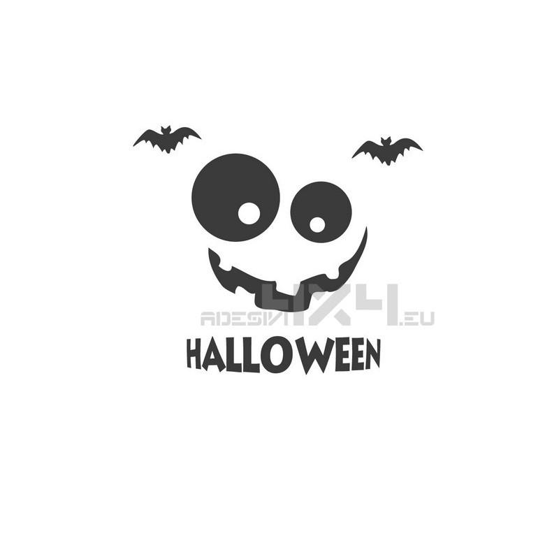 Vetrofania halloween mod.1