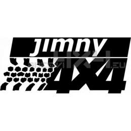 Adesivo Suzuki Jimny 4x4