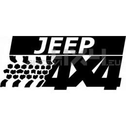 Adesivo Jeep 4x4
