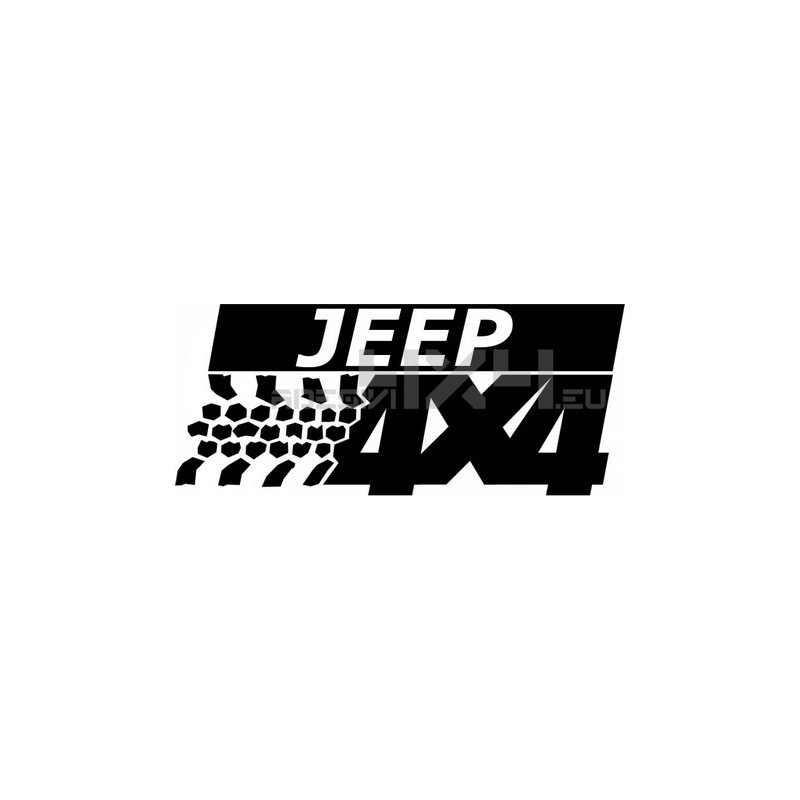 Adesivo suzuki jeep 4x4
