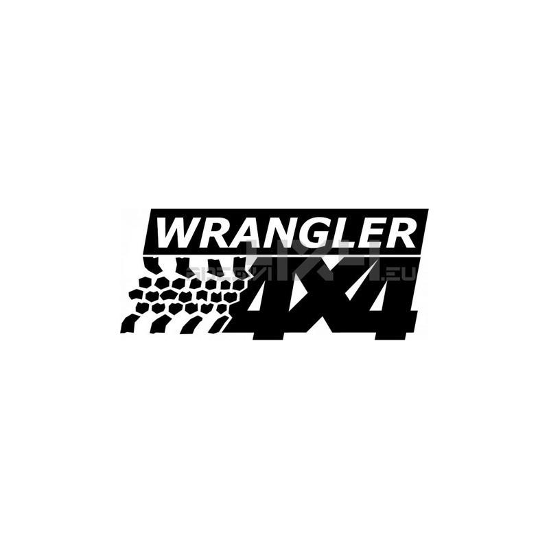 Adesivo jeep wrangler 4x4